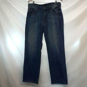 Mens Lucky Brand California 181 Bootleg Jeans 36R